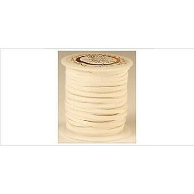 """Tandy Leather Deerskin Lace 3/16"""" x 36 Ft White 5068-07"""