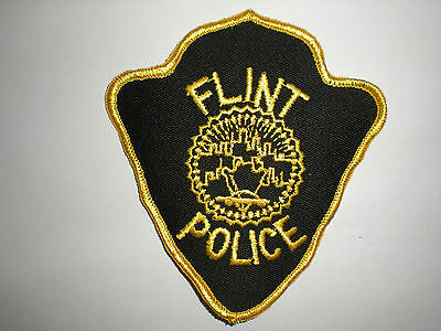 Flint, Michigan Police Department Patch