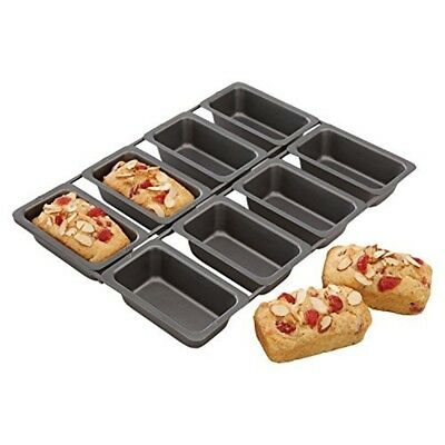 "Chicago Metallic Professional Non-stick 8-cup Mini Loaf Tin, 32.5 x 23cm (13"" -"