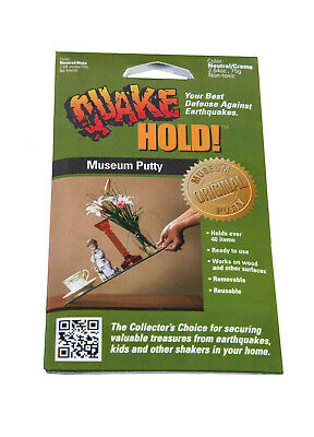 QuakeHold Museum Putty Wax  Earthquake, The Preferred Museum product