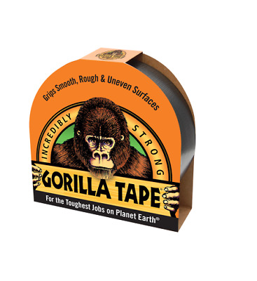 GORILLA TAPE TOUGH, RUGGED, RIP IT, STICK IT, DONE 9.14m HANDY ROLL