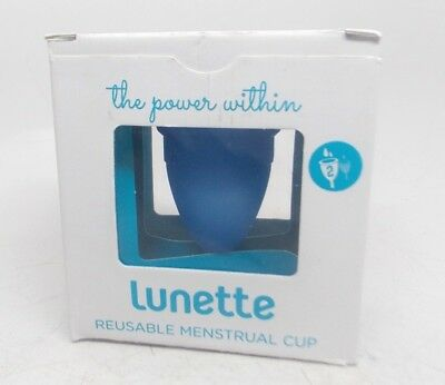 Lunette Revolutionary Period Care Number 2 Normal to Heavy Flow Reusable Blue