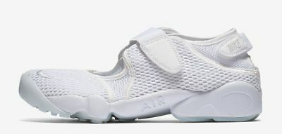Nike Air Rift Breathe White Trainers Running Shoes Womens Sizes 2.5 - 7.5   new  9f292cb13f