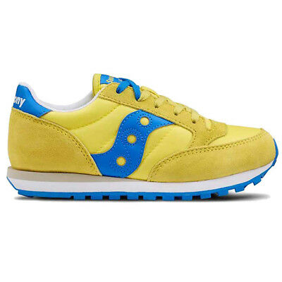 NS. 317120 SAUCONY KID'S JAZZ ORIGINALS YELLOW/CO 15Y