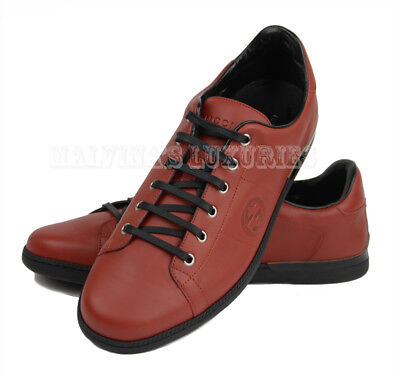 743a96f1559 Gucci Mens Sneakers Interlocking G Logo Rosso Leather Shoes 11.5G   12.5    46