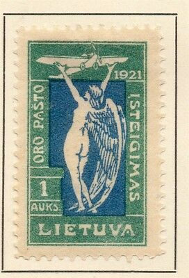 Lithuania 1921 Early Issue Fine Mint Hinged 1A. 232053