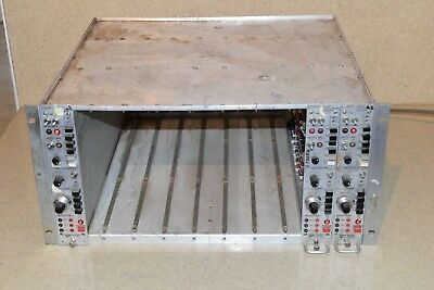 Vishay Measurement Groups 2310 Signal Conditioning Amp Lot Of 3 & Chassis (A9)