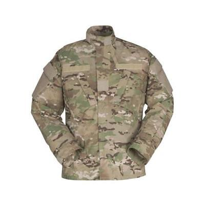 GI Army Multicam Bond-It Insect Repellent Shirt Flame Resistant US Made Used