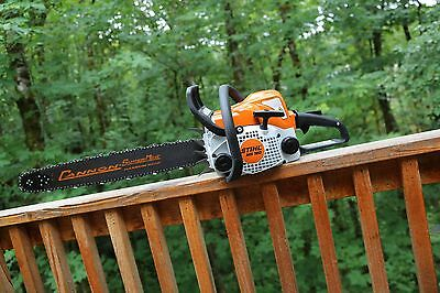 PILTZ Stihl MS180 HOT SAW 18 inch Stihl bar and Chain Perfect CHAINSAW