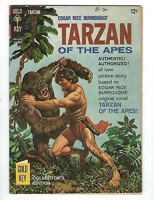 Edgar Rice Burroughs' Tarzan Of The Apes Comic #155 Dec 1965 Origin Of Tarzan
