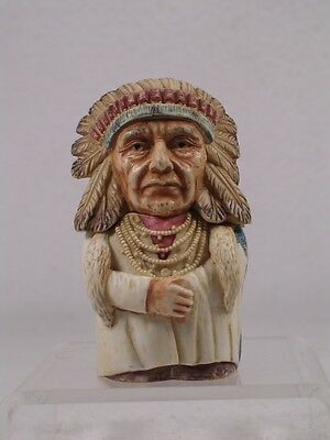Harmony Kingdom/Ball Pot Bellys / Belly 'Chief Joseph' #PBHCJ Retired New In Box