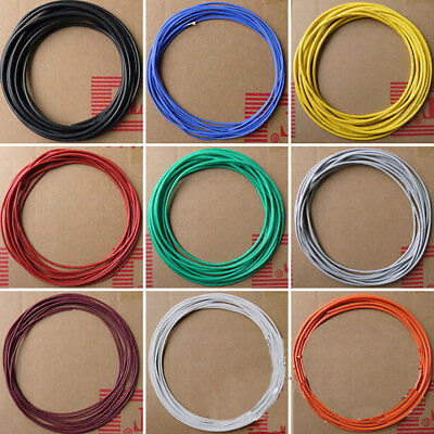 5m/16.40ft 30/28/26/24/22/20 Flexible Stranded Silicone Electric Wire Cable Beam