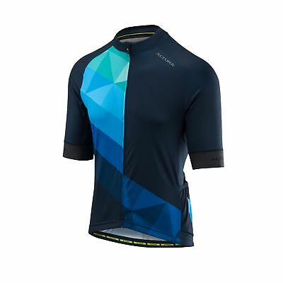 Altura Peloton Short Sleeve Road Bike Cycling Cycle Jersey - Blue