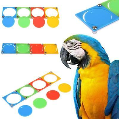 Bird Toy Pet Training Puzzle Parrot Colorful Chew Toys For Parrot Canary Macaw