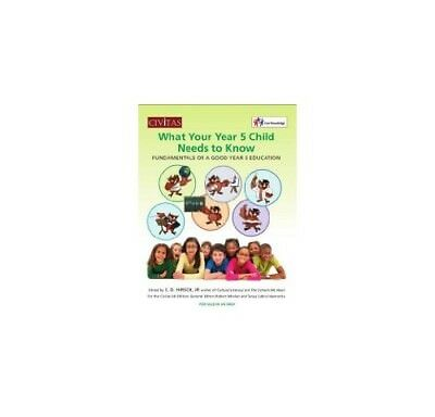 What your year 5 child needs to know: Fundamentals of a good year 5 education,P