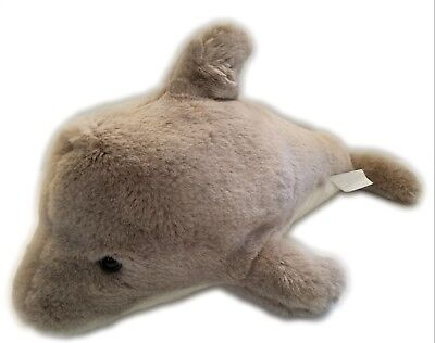 Big Dolphins Stuffed Animal Beta Toys 18 Adorable Soft Gray Dolphin