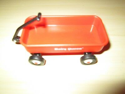 Dairy Queen Vintage Advertising Red Wagon Toy