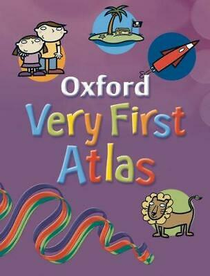 OXFORD VERY FIRST ATLAS, , Good Condition Book, ISBN 9780198387480