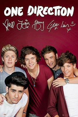 One Direction : Maroon - Maxi Poster 61cm x 91.5cm (new & sealed)