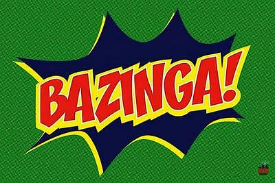 The Big Bang Theory : Bazinga - Maxi Poster 91.5cm x 61cm (new & sealed)