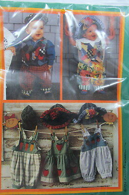 Little Sprouts Wardrobe Outfits Patterns k p kids 6 months to 4T New Uncut