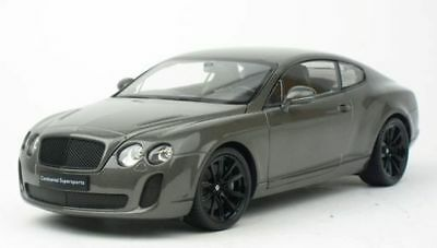 Bentley Continental Supersports 2011 Matt Grey Welly 18038W 1/18 1:18 Gris