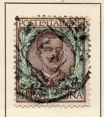 Italy 1901-11 Early Issue Fine Used 1L. 231413