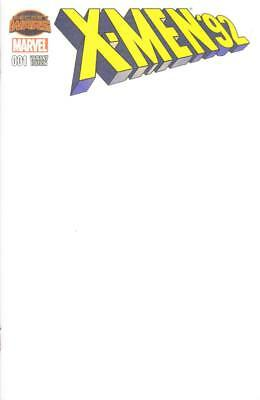 X-Men 92 #1 Blank Do It Yourself Variant Take To A Con For A Sketch Secret Wars