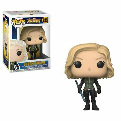 Funko Pop Marvel Avengers Infinity War Black Widow Vinyl Action Figure