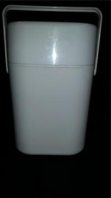 Retro Cream Decor Drink Cooler Large For 4 Bottles With Ice Bricks