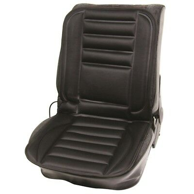 12v Heated Seat Cushion With Hi Lo Control Switch - Car Cover Van Plug Padded