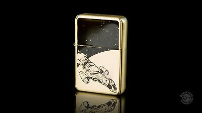 Firefly Serenity Ship Image and Browncoats Logo Brass Lighter NEW UNUSED