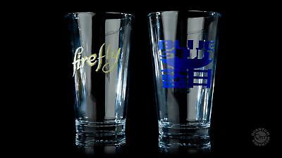 Firefly Serenity Illustrated 16 oz. Pint Glass Set of 2 Series 1 NEW BOXED