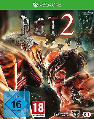 AOT 2 - Wings of Freedom (Based on Attack on Titan) Xbox One NIP
