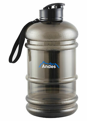 Andes Large 2.2L Sports Training Gym Water Drinking Bottle Camping Cap Kettle