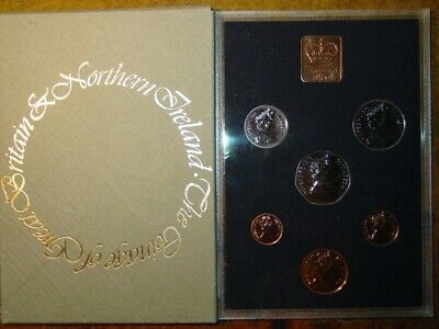 1976 Royal Mint 7 coin Proof set 50p 10p 5p 2p 1p 1/2p