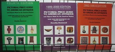 Pictorial Price Guide To American Antiques Dorothy Hammond 3 BOOK LOT