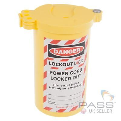 LOTO Industrial Electrical Plug Lockout - Single Plug