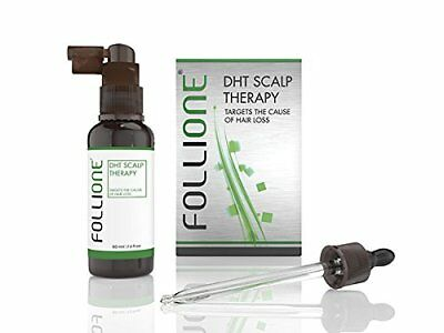 Follione DHT Scalp Therapy - one month supply. Regrow Hair Loss from DHT & Hair