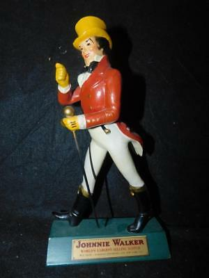 "VINTAGE JOHNNIE WALKER Johnny 10 1/2"" DISPLAYMASTERS store display walking man"