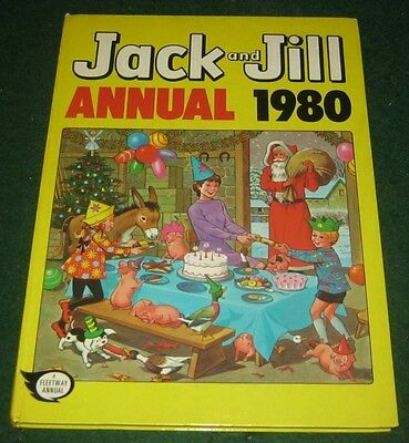 JACK AND JILL ANNUAL 1980 Fleetway Not Price Clipped Hardback