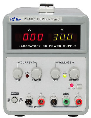 Unisource PS-1303 30V/3A, Single Channel DC Power Supply