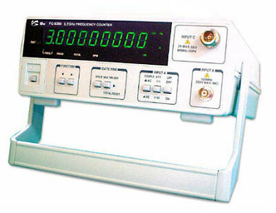 Unisource FC-8300 3.7GHz Frequency Counter, 9-digit LED Display