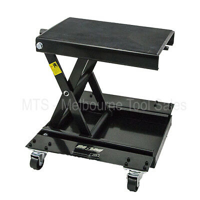 Motow - Motorcycle Scissor Lift Stand Jack Hoist with Dolly - 454KG Capacity