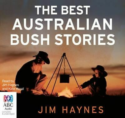 NEW The Best Australian Bush Stories By Jim Haynes Audio CD Free Shipping
