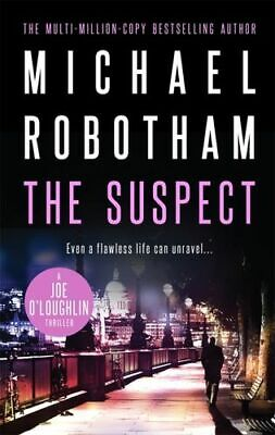 NEW The Suspect : Joe O'loughlin By Michael Robotham Paperback Free Shipping