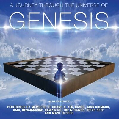 Various - A Journey Through The Universe Of Genesis CD Collectors NEW