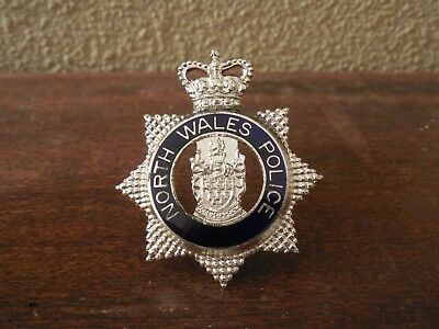 North Wales Police ~ Hat Pin / Hat Badge