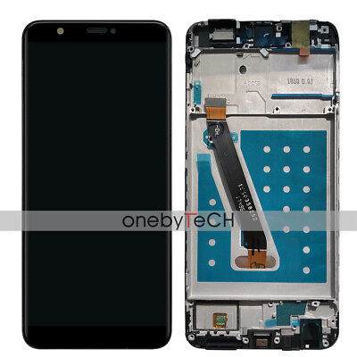 Huawei Enjoy 7S / P smart FIG-LX1 LX2 LA1 Black Touch LCD Display Assembly+Frame