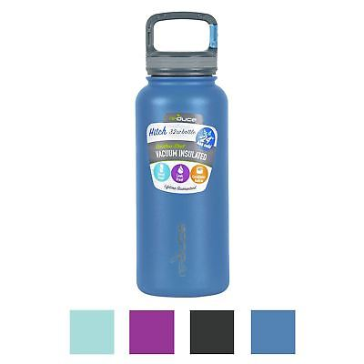 Reduce Hitch Water Bottle 945ml Vacuum Insulated Steel Carabiner Clip Travel